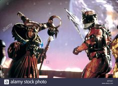 mighty morphin power rangers movie 1995 rita & zedd | Stock Photo - JULIA CORTEZ & MARK GINTHER MIGHTY MORPHIN POWER RANGERS ...