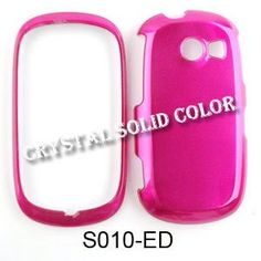 Buy Samsung Flight II A927 Solid Hard Case Cover Crystal Hot Pink NEW for 1.97 USD | Reusell