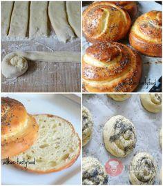Briošky. Mäkučké a jemne sladké. Chutné raňajky Bagel, Hamburger, Food And Drink, Bread, Vegan, Basket, Brioche, Hamburgers, Bakeries