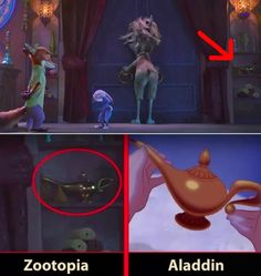 27 Disney Movie Easter Eggs You've Never Noticed Before 27 Disney Movie Easter Eggs, die Sie noch nie bemerkt haben Funny Disney Pictures, Funny Disney Jokes, Disney Memes, Disney Diy, Disney Pixar, Punk Disney, Hidden Disney Secrets, Disney Secrets In Movies, Easter Eggs In Movies