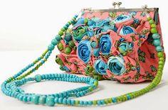 Цветочные сумочки  Claudia Chindea (Diy)