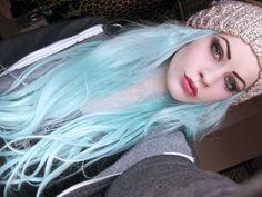 Baby Blue Hair