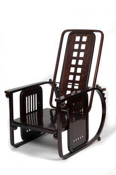 """Sitzmaschine"" armchair by Josef Hoffmann"