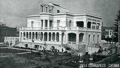 Francesco Fichera, Villa Scannapiego a Catania