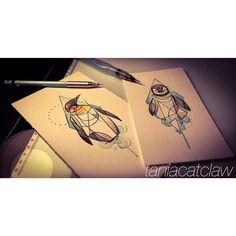 Penguin tattoo @taniacatclaw