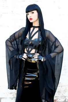 http://www.adelepsych.com/product/adele-psych-sorceress-black-pvc-and-chiffon-gothic-cloak