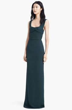 Burberry Prorsum Double Georgette Gown @Nordstrom