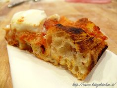 Italian recipes... La PIZZA secondo Gabriele Bonci