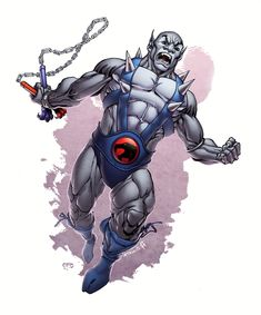 Panthro is a warrior, a pilot and an engineer for the Thundercats. Thundercats Characters, He Man Thundercats, Thundercats Cartoon, 90s Cartoons, Animated Cartoons, Cartoon Movies, Cartoon Characters, He Man Desenho, Comic Books Art