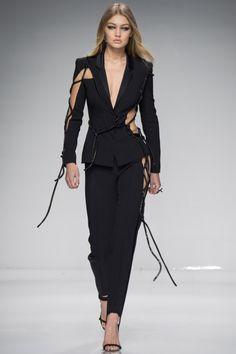 Gigi Hadid at Atelier Versace SS16