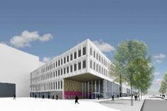 Nieuw scholencomplex in Rotterdam krijgt natuurlijke touch met Amerikaanse rode eik @AHEC Europe