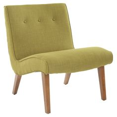 You should see this Mercer Modern Slipper Chair in Green on Daily Sales!