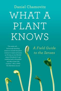 What a Plant Knows, by Daniel Chamovitz [Scientific American/FSG Books]