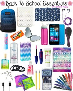 Back To School Essentials by Jennifer Rosas