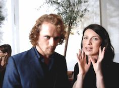 Geek talk with Caitriona Balfe & Jamie Fraser Outlander Interview x s a s s e n a c h
