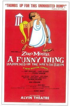 A Funny Thing Happened on the Way to the Forum Broadway Show Poster from eTriggerz. Saved to Things I want as gifts. Broadway Posters, Musical Theatre Broadway, Broadway Plays, Broadway Shows, Movie Posters, Theatre Posters, John Carradine, Jerome Robbins, Pop Culture References