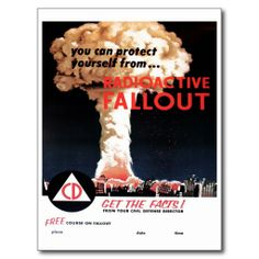 You Can Protect Yourself From Radioactive Fallout Poster Vintage Advertisements, Vintage Ads, Vintage Posters, Vintage Stuff, Cold War Propaganda, Fallout Posters, Fallout Facts, Fallout 3, Bomba Nuclear