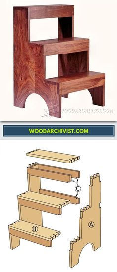 DIY Stepstool - Furniture Plans and Projects | WoodArchivist.com