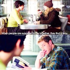 When people are supposed to be together, they find a way. #onceuponatime