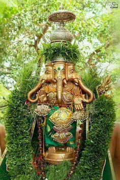 Shri Ganesh! Lord Ganeshji Ganesh Chaturthi Decoration, Sri Ganesh, Lord Ganesha Paintings, Hindu Rituals, Ganpati Bappa, Shiva Shakti, Hindu Deities, Lord Shiva, Ganesh Lord