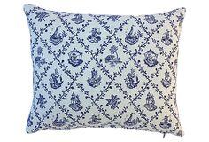 Blue & White Chinoiserie Pillows, Pair | Home Tour | One Kings Lane