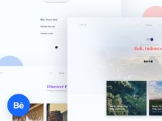 XPLRe Travel Application | Discover Web Interface
