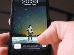 iOS 6 lock screen camera affordance
