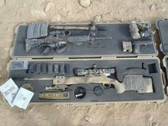 zombie weapons and gear   M40 rifle and rifle case