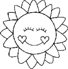 Sun Moon For Kids Coloring Sun Coloring Pages, Preschool Coloring Pages, Pattern Coloring Pages, Coloring Sheets For Kids, Coloring Pages To Print, Kids Coloring, Applique Templates, Applique Patterns, Quilt Patterns