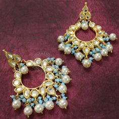 Rozina Earrings  by Indiatrend. Shop Now at WWW.INDIATRENDSHOP.COM
