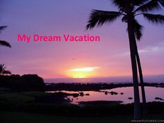 My Dream Vacation Katy D.
