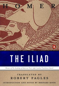 The Iliad.  Homer. On to try to finally finish this book!