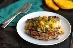 CremedelaCrumb: Grilled Chicken with Fresh Mango Salsa