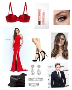 """""""Untitled #127"""" by nikkisheil15 ❤ liked on Polyvore featuring Sherri Hill, Fleur du Mal, Burberry, Victoria Beckham, Kenneth Jay Lane and Effy Jewelry"""