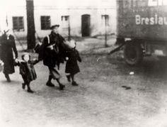 Breslau, Germany, Deportation of Jews. Unknown if those in photo survived the Holocaust