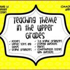 Common Core Aligned Unit for Teaching Theme in Literature. This 80  page unit contains everything you need to teach theme!This unit contains:posters, literacy centers/games, essential questions, graphic organizers, foldables, rubrics, self assessment checklist, and the best part, FOUR comprehension passages with themes!