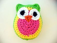 Twyla the Crocheted Owl by ACCrochet on Etsy, $15.00