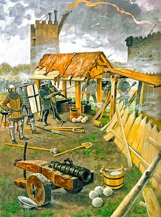 Artillery of the Teutonic Order, approx. 1400-1475