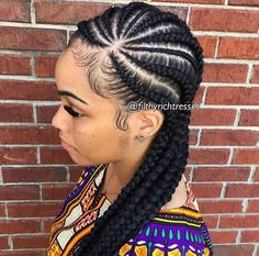 stylish hair styles 16 feed in cornrow and cornrow braid styles we are loving 1101