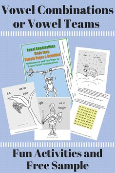 What if you could teach children the vowel combinations or vowel teams by complete fun coloring activities, searches, and mazes? What's more, embedded memory strategies could help to make the concepts sticky. Vowel Combinations Made Easy is a great OG or phonics base addition to your bag of teaching tricks, and now, you can download a FREE sampling of activities.