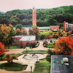 Appalachian State University campus, Fall 2013