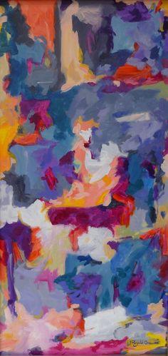 Art Original Abstract Painting Abstract Art by WReynoldsOrr