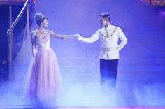 DWTS 2014: Week 5 Image 1 |  Dancing With The Stars Season 18  Pictures and Character Photos - ABC.com.......Amy Purdee *Cinderella* and Derek Hough *Prince Charming*