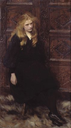 Ralph Peacock, Ethel, 1897. Oil on canvas, 133 x 74 cm, Tate Gallery, London