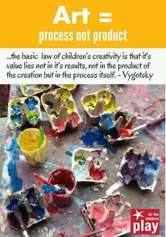 Advice for moms early childhood art, early childhood quotes, cognitive activities for toddlers ea Preschool Quotes, Preschool Art, Preschool Learning, Teaching Art, Early Learning, Process Art Preschool, Preschool Classroom, Sensory Activities For Preschoolers, Toddler Activities