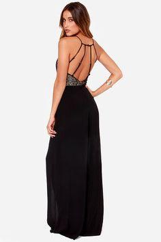 3b3e50e9aed Backless Jumpsuit - Black Jumpsuit - Lace Jumpsuit Black Lace Jumpsuit