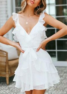 7 Different Dress Styles to Try this Summer - Joanna Rahier Source by phyllel., 7 Different Dress Styles to Try this Summer - Joanna Rahier Source by phylleli dresses. Elegant White Dress, Beautiful White Dresses, Pretty Dresses, Sexy Dresses, Fashion Dresses, Elegant Dresses, Simple White Dress, Awesome Dresses, Formal Dresses
