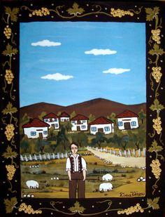 Μέσα σ'ένα σεντουκάκι...: Θέμα Μαρτίου: Λαϊκή Παράδοση στην Ελλάδα! Greek Art, Greece, Preschool, Artist, Blog, Painting, Decoration, Dekoration, Kid Garden