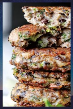 The Best Damn Chunky Portabella Veggie Burgers on the earth! Portabella mushrooms, broccoli, black beans, and seasoning make this a burger even meat enthusiasts can't resist! This burger is packed full of vegetables and seasonings that make it taste like a real beef burger #recipes #foodrecipes #easyrecipes #simplerecipes #quickrecipes #cheaprecipes #goodrecipes #bestrecipes #latestrecipes #newrecipes #recipesideas #simplefoodrecipes #cookingrecipes Good Healthy Recipes, Quick Recipes, Crockpot Recipes, Healthy Choices, Delicious Recipes, Healthy Food, Portabella Veggie Burger Recipe, Veggie Burgers, Granny's Recipe