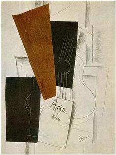 Aria de Bach - Georges Braque